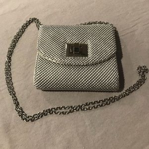 Charming Charlie Bags - Silver Evening Bag